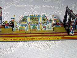 Louis Marx The Big Parade 1920s Tin Wind Up Toy