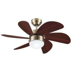Westinghouse Turbo Swirl 30 in. Antique Brass Ceiling Fan 7824865 at