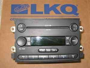 2006 Ford F150  6 Disc CD Player Radio OEM LKQ