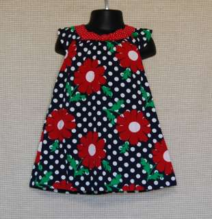 Red Poppy Polka Dot Dress size 18 24 Month Baby Girl Clothing