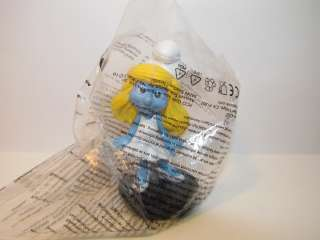 Smurfette Glass Topper Movie Smurf Schtroumpf Action Figure 3.3