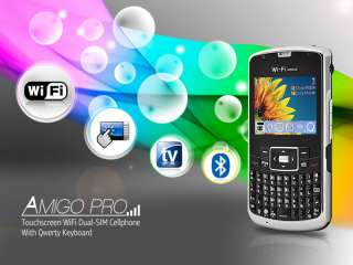 New Amigo Pro Touchscreen WiFi Dual SIM Mobile Phone