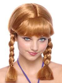 Short Brown Braids Wig   Costume Wigs