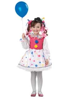 Cutsie Clown Toddler Costume for Halloween   Pure Costumes