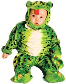 Frog Plush Green Toddler (Kids Costume)
