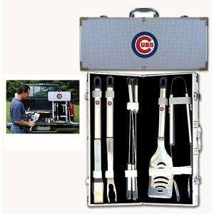 Chicago Cubs MLB Barbeque Utensil Set w/Case (8 Pc