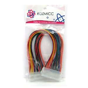 KOZMICC 24 Pin ATX Power Extension Cable (Power Supply to Motherboard