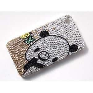 Cute Cartoon Panda Bear Fashion iPhone 4S 4 Case Cover