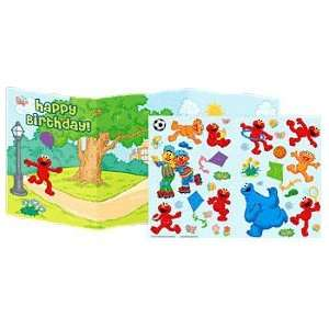 Sesame Street Sticker Fun Birthday Card Toys & Games