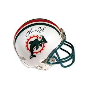 Miami Dolphins Ronnie Brown Autographed Mini Helmet