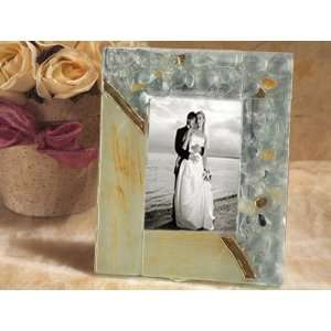Wedding Favors Murano Art Deco Collection Photo Frame (Set