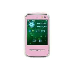 Standby Touch Screen FM Cell Phone (Pink) Cell Phones & Accessories