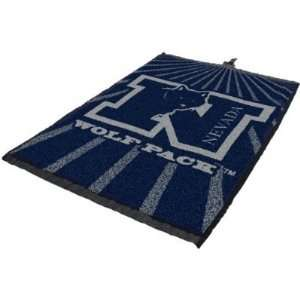 Nevada Wolf Pack Golf Towel   NCAA College Athletics