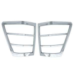 2005 UP Jeep Grand Cherokee Chrome Taillight Covers 2PC