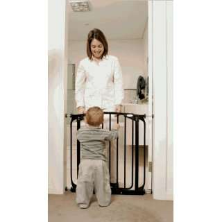 Tee Zed L160B Swing Closed Security Gate Black Baby