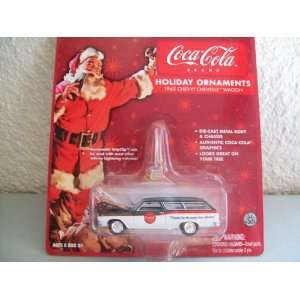 Coca Cola Holiday Ornaments 1965 Chevy Chevelle Wagon Toys & Games