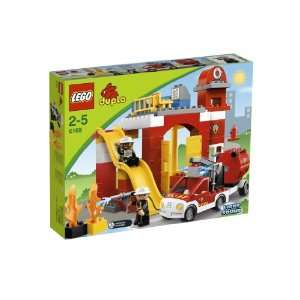 LEGO DUPLO Fire Station  Toys & Games