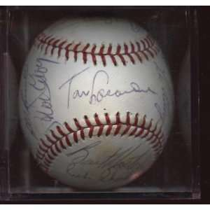 1978 Los Angeles Dodgers Team Signed BB 22 Sigs JSA LOA