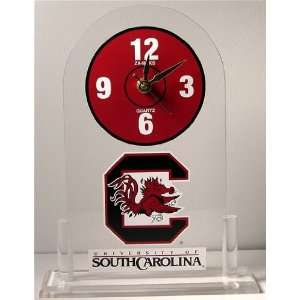 NCAA South Carolina Gamecocks Desk Clock