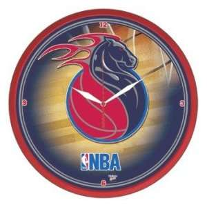 Detroit Pistons NBA Wall Clock