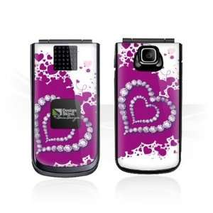 Design Skins for Nokia 2720 fold   Diamond Heart Design