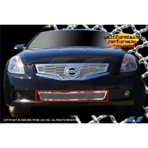 Nissan Altima Coupe 2008 2010 (Bottom Only) SES Stainless Steel Chrome