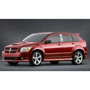 Dodge Caliber Chrome Pillar Posts 2006 2011 6 Pc