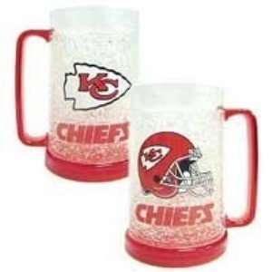 Kansas City Chiefs NFL Crystal Freezer Mug