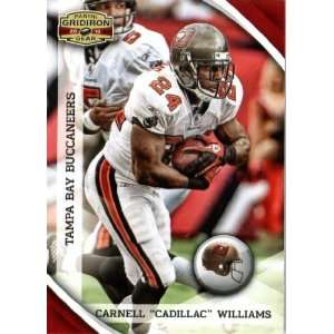 2010 Panini Gridiron Gear #138 Cadillac Williams   Tampa Bay