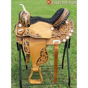 Flex Tree Barrel Racing Trail Western Horse Saddle