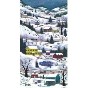Winter In The Valley   Little ~ Wooden Jigsaw Puzzle Toys & Games