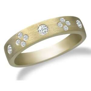 10k Yellow Gold Diamond Ring (1/5 cttw, I J Color, I2 I3