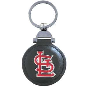 Leather Key Ring   St. Louis Cardinals