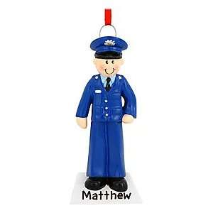 Personalized Air Force Man Ornament
