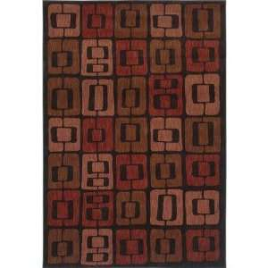 Angela Adams 3V8 08500 Angela Adams Munjoy Black Contemporary Rug Size