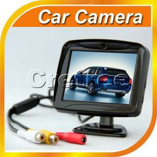 TFT LCD Car Reverse Rearview Color Monitor+Car Backup Camera