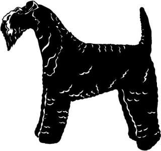 Kerry Blue Terrier Vinyl Decal Car Truck Boat Trailer RV Bike Sticker