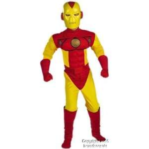 Marvel Iron Man Childs Halloween Costume (SizeLarge 7 10