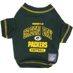 Green Bay Packers NFL pet dog game sports TEE shirt (sizes)