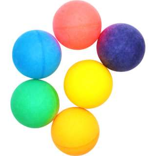 Stiga One Star Colored Table Tennis Balls Pack