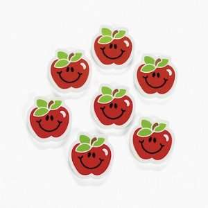 Apple Erasers   Basic School Supplies & Erasers & Pencil