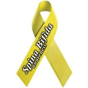 Spina Bifida Awareness Ribbon Magnet Automotive